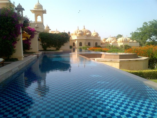 The Oberoi Udaivilas: View from the room