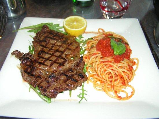 Restaurant Da Alberto: Bistecca Griglia
