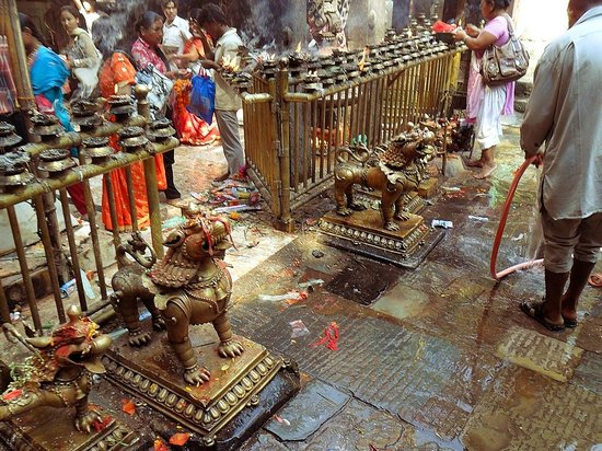 Храм Дакшинкали: Kali shrine 1