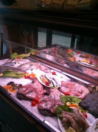 Hotel Vulci : il frigo pesce
