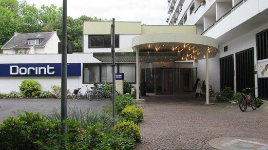 Dorint Parkhotel: Vooraanzicht ingang