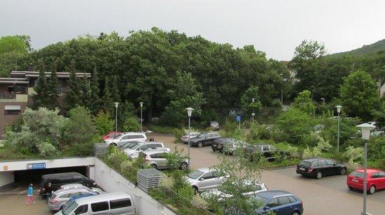 Dorint Parkhotel Bad Neuenahr : Uitzicht vanuit de kamer