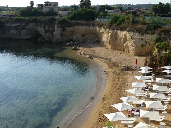 Grand Hotel Minareto: Hotel's private cove