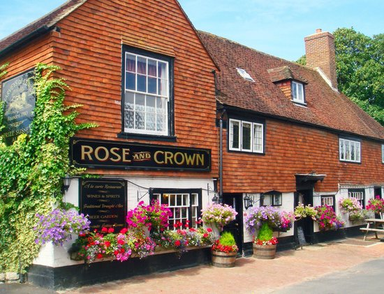 Rose and Crown Pub: Rose and Crown in Burwash