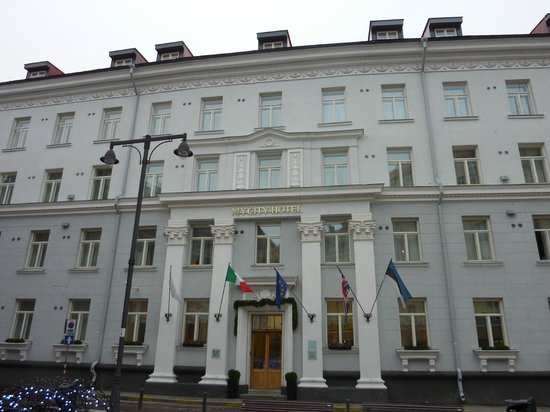 My City Hotel Tallinn: Front view of the hotel