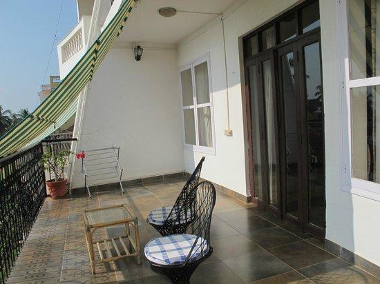 Zuari View: Balcony