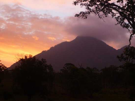 Mt Barney Lodge Country Retreat: Orange Sky