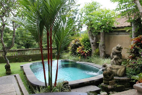 Pool garden villa 201 picture of pita maha resort and for Garden pool villa ubud