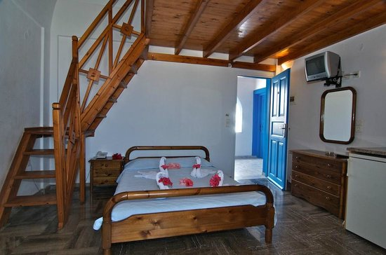 Pension George: studio for 4 persons with mezzanine