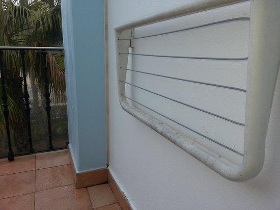 Playaballena Spa Hotel: tendedero