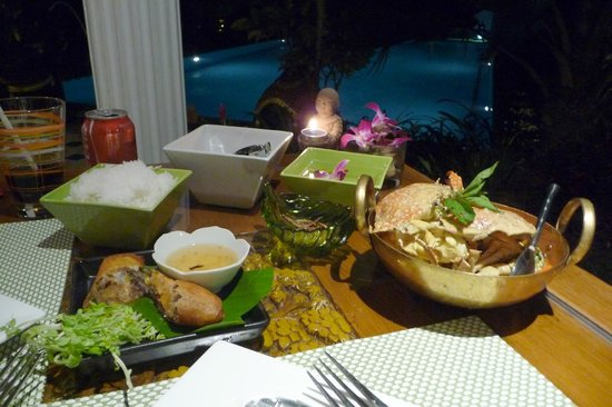 Baan Malinee Bed and Breakfast: Crab Curry - lovely