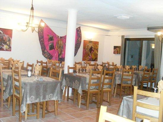 Hotel Delta: salle restaurant le delta