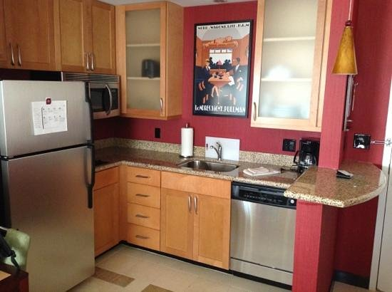 Residence Inn Port St. Lucie: kitchen - Studio room
