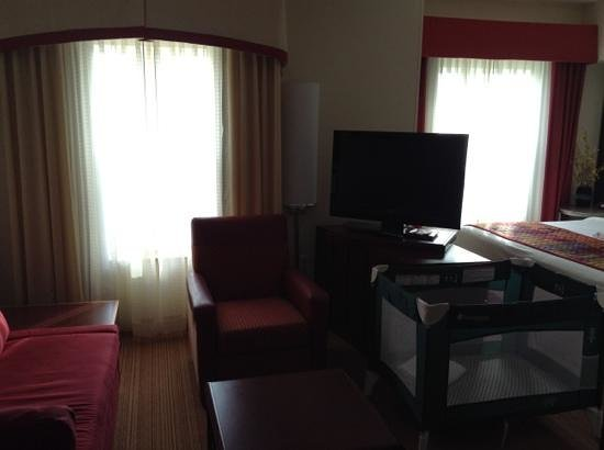 Residence Inn Port St. Lucie: Living room - Studio room
