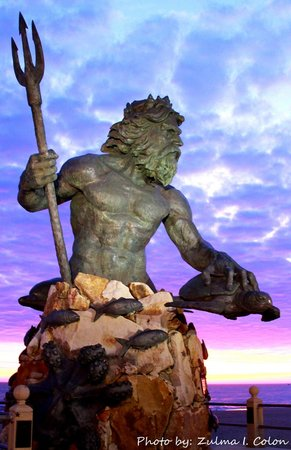 The Oceanfront Inn: Statue of Neptune