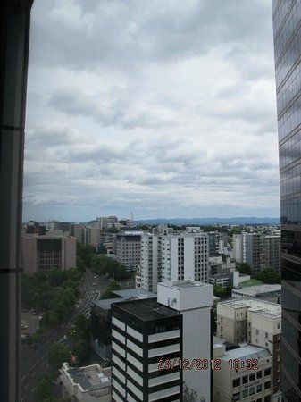 Crowne Plaza Auckland: View from room