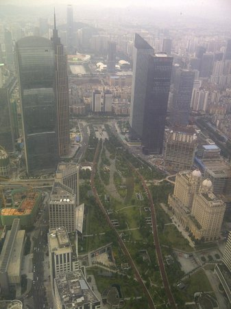 Four Seasons Hotel Guangzhou: View from room
