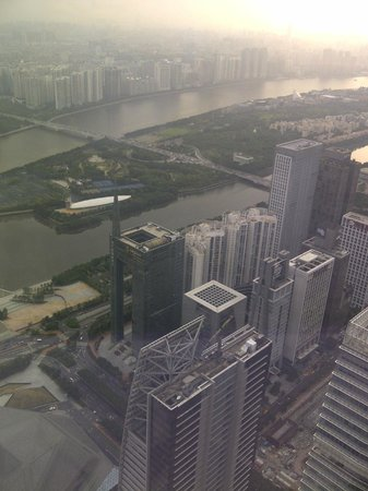 Four Seasons Hotel Guangzhou: View from level 70