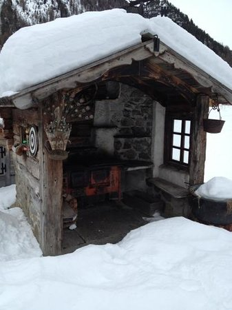Chalet Cambra : bracere