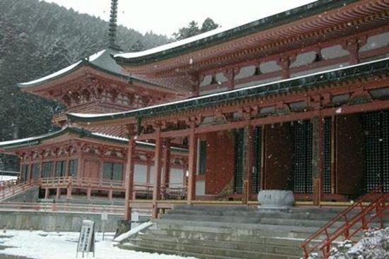 延暦寺 会館, 雪の延暦寺