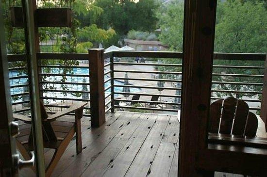 Desert Pearl Inn: Balkon