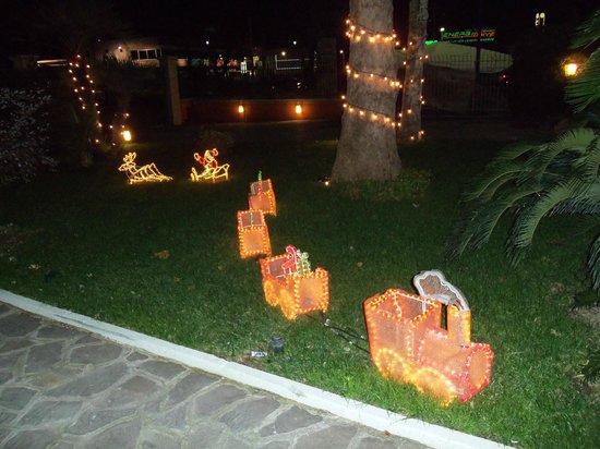 Hotel Dei Platani: Magico giardino.....