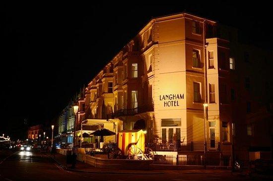 Langham Hotel: Langham at night