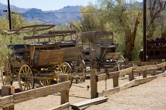 Furnace Creek Inn and Ranch Resort: kleines Museum