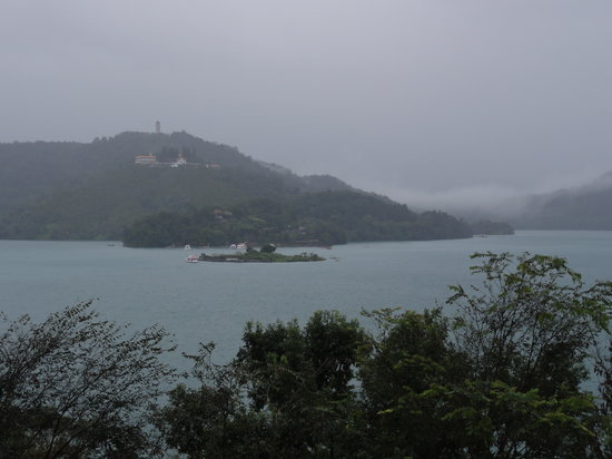 The Lalu Sun Moon Lake: view