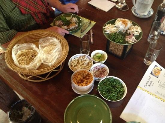 Making Pad Thai - Picture of Thai Cooking Course Hua Hin, Hua Hin ...