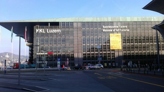 "Kunstmuseum Luzern: Das ""Kunstmuseum"" im KKL"