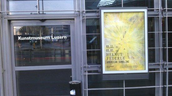 Kunstmuseum Luzern: Eingang (Erdgeschoss)