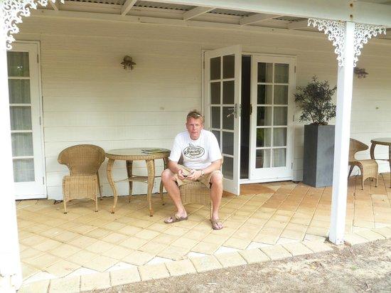 Llewellin's Guest House: Verandah