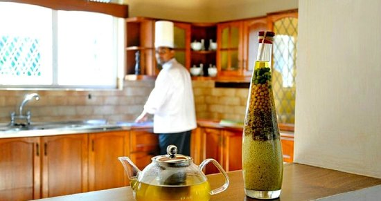 Swetha Villa : Open Kitchen and Pantry