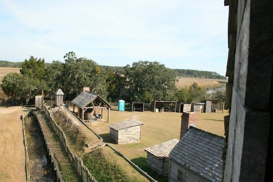 Fort King George Historic Site: Fort