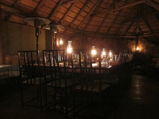 ‪‪Mosetlha Bush Camp & Eco Lodge‬: Dining area‬