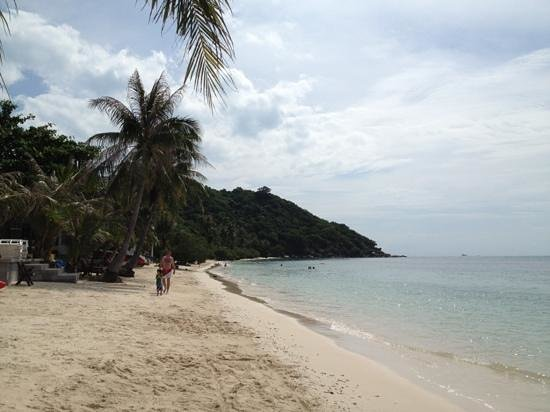 Cocohut Village Beach Resort & Spa: relaxing on the beach