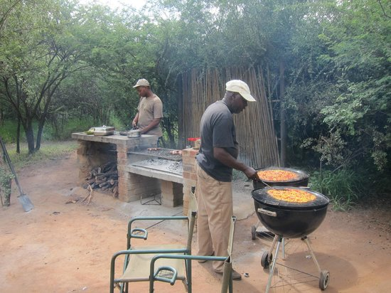 Mosetlha Bush Camp & Eco Lodge: Breakfast