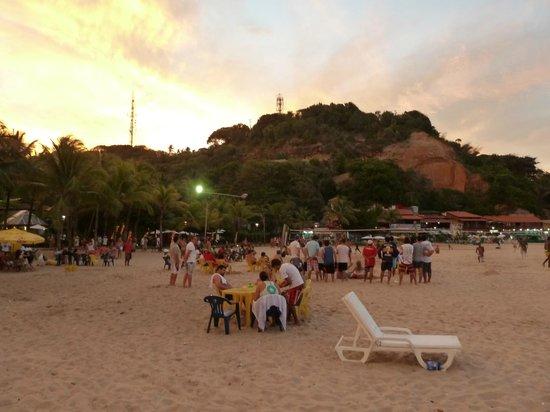 Morro de Sao Paulo, BA: Praia 2 no final do dia