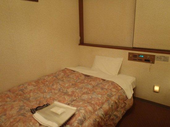 Nagoya Crown Hotel: ベッド