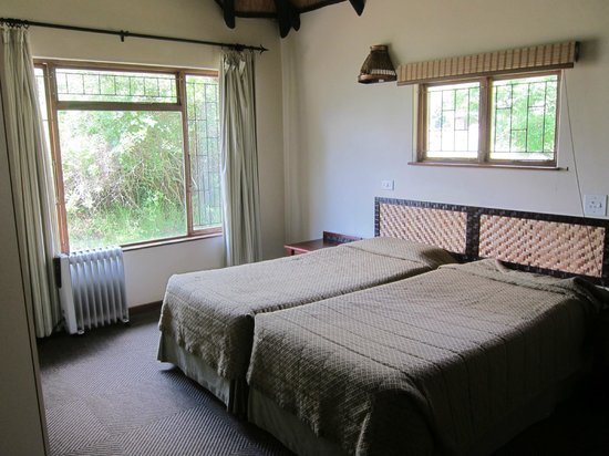 Thendele Hutted camp: Bedroom