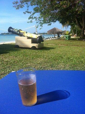 Azul Beach Resort & TUI Sensatori Resort Negril, by Karisma: Canon on the grounds.