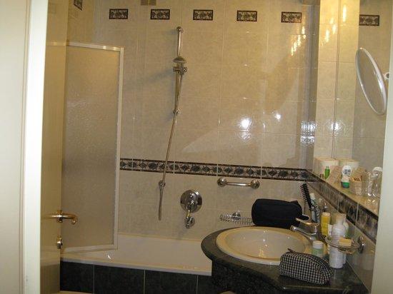 Hotel Bristol Buja: ванная