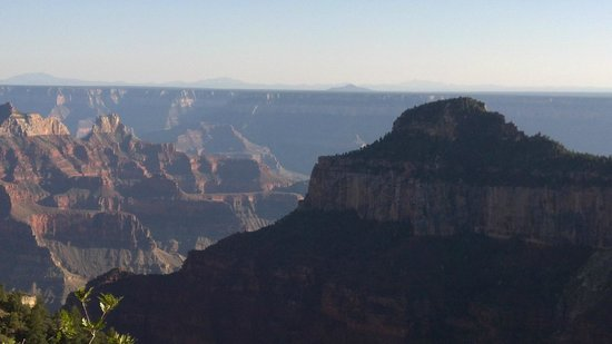 View from North Rim Campground