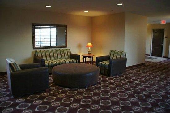 Moenkopi Legacy Inn & Suites: Sitzecke auf einem der Hotelflure
