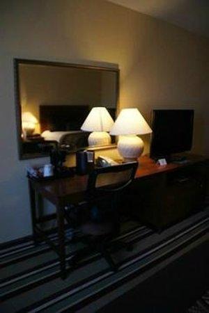 Moenkopi Legacy Inn & Suites: Schreibtisch und Flat-TV