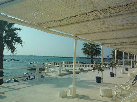 vista dalla camera - Picture of Hotel Bagni Lido, Vada - TripAdvisor