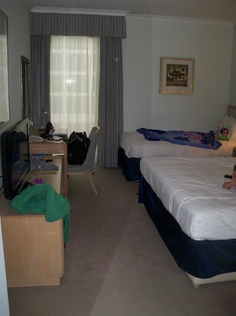 Hilton London Gatwick Airport: Triple room