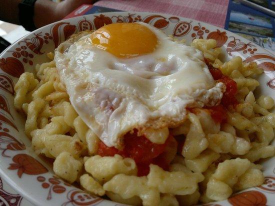 Berghotel Oeschinensee: typical swiss food
