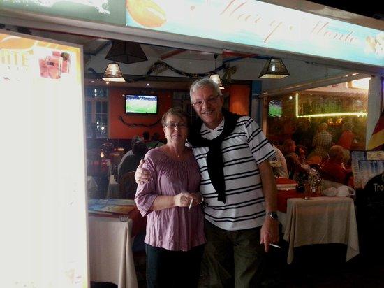 Restaurante Mar y Monte : Nöjda gäster